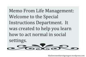 Memo From Life MGMT